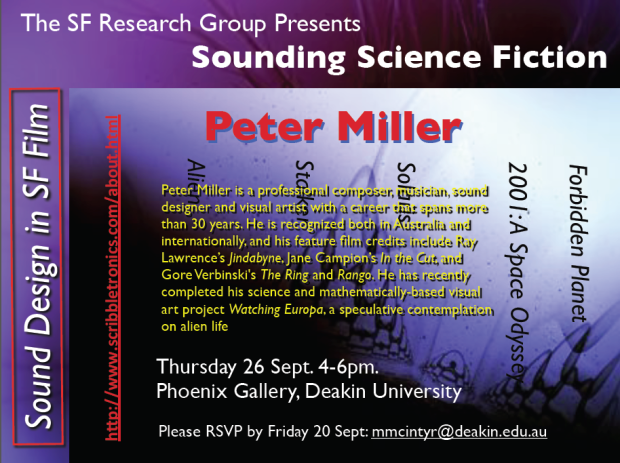 Sounding Science Fiction with Peter Miller